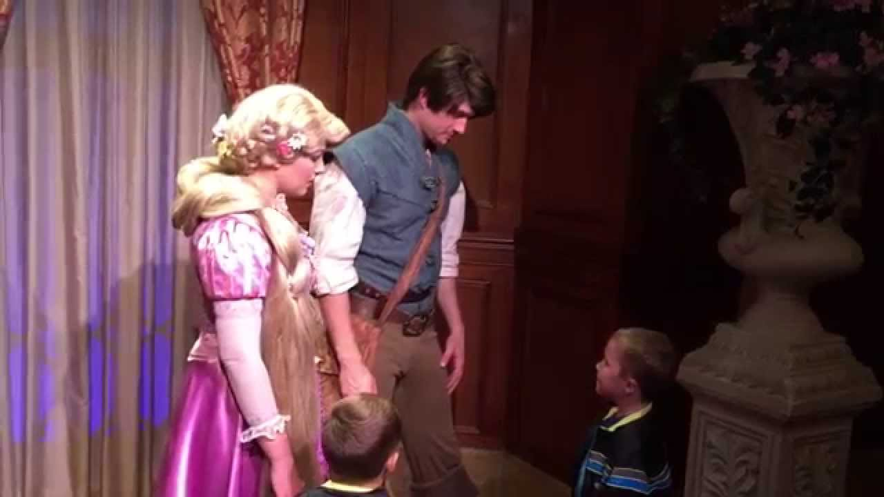 flynn and rapunzel meet spider