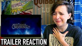 Fantastic Beasts: The Crimes of Grindelwald Official Comic-Con Trailer Reaction