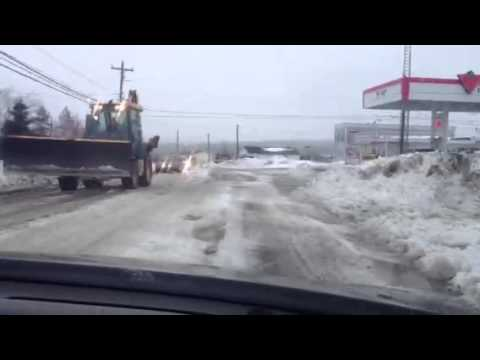 Conception Bay Hwy Kelligrews AFTER Snowpocalypse