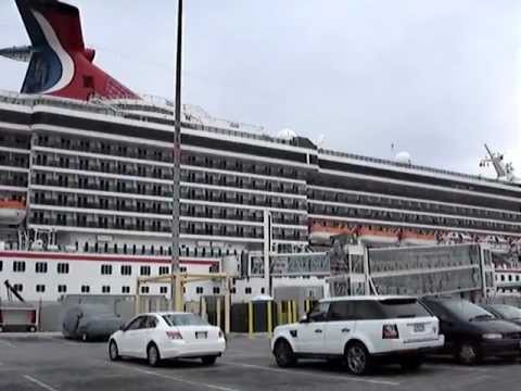 Carnival Pride Cruise Ship In Baltimore YouTube - Parking at baltimore cruise ship terminal