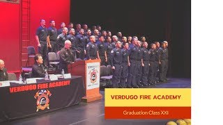 GCC Verdugo Fire Academy Graduation 2019