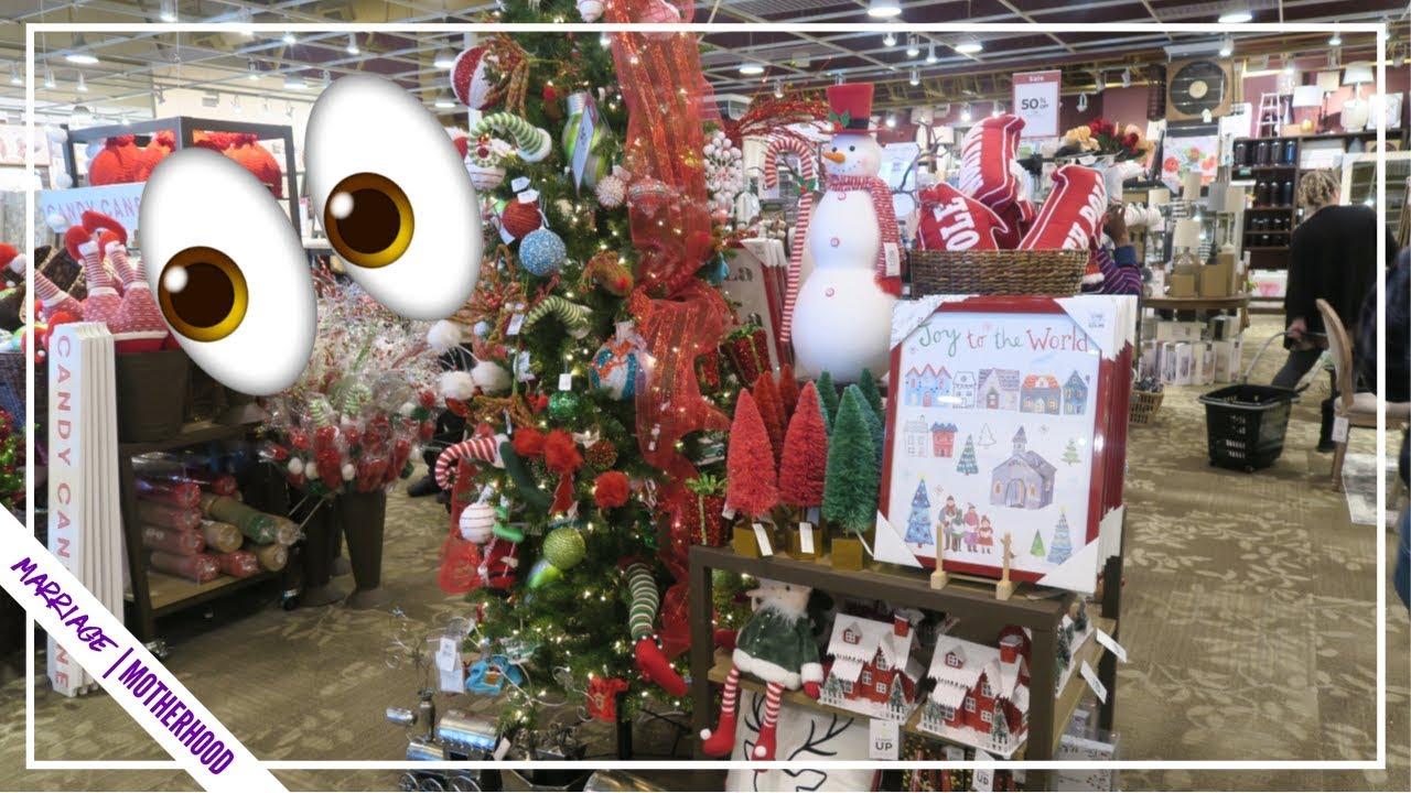 I Splurged Beautiful Kirklands Christmas Decor Haul And Shop With Me Youtube