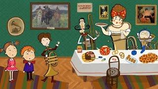 Видеть музыку - Развивающий мультфильм для детей