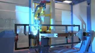 Выполненный проект: роботизированный комплекс для сварки в защитных газах изделий типа «Роликоопора»