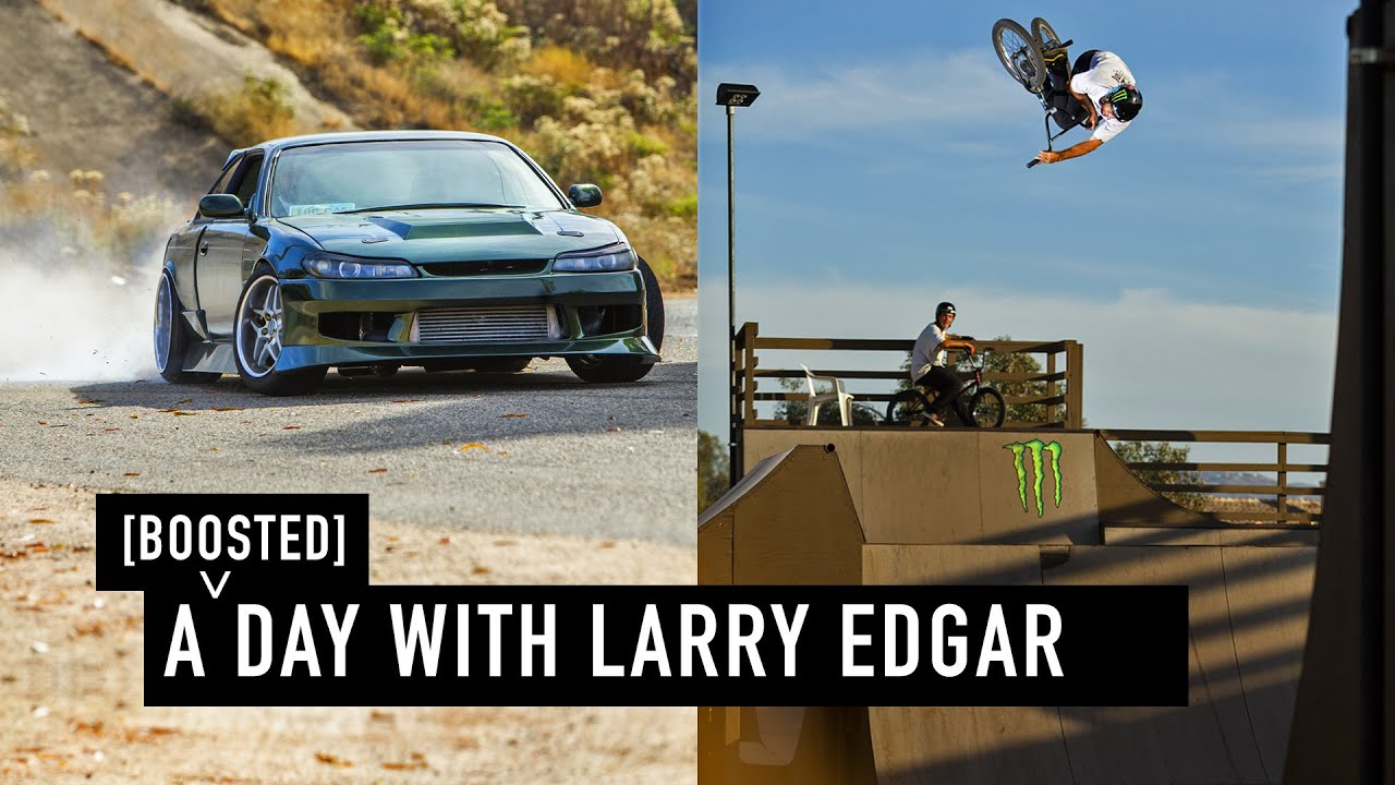 GOING FAST - A DAY WITH LARRY EDGAR