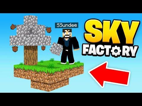 So it begins... (Minecraft SkyFactory)