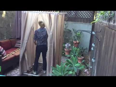 DIY: Build a sukkah for a small patio or balcony