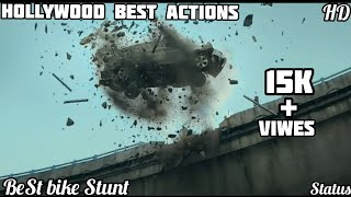 💯Hollywood Action Scene WhatsApp Status , Best 🚗Bike Stunt , Must Watch Video Status