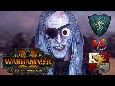 Vampire Coast vs Empire | THE PIRATE KING - Total War Warhammer 2