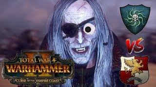 Vampire Coast vs Empire | THE PIRATE KING - Total War Warhammer 2