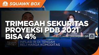 Reli Harga Komoditas, Trimegah Sekuritas Proyeksi PDB 2021 Bisa 4%