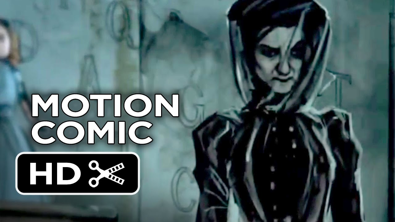 the woman in black 2 angel of death motion comic (2015) - tom harper