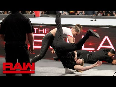 Ronda Rousey rips into The Bellas before destroying their private security: Raw, Oct. 15, 2018 Mp3