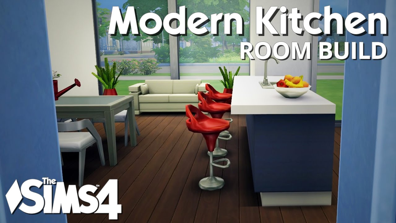 The sims room build modern kitchen youtube