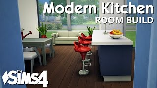 The Sims 4 Room Build - Modern Kitchen