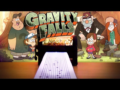 [Music Box Kikkerland] Gravity Falls Theme