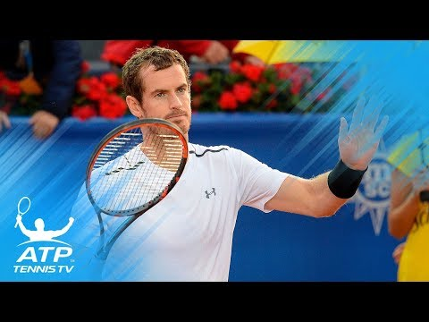 ATP tennis players describe Andy Murray in one word!