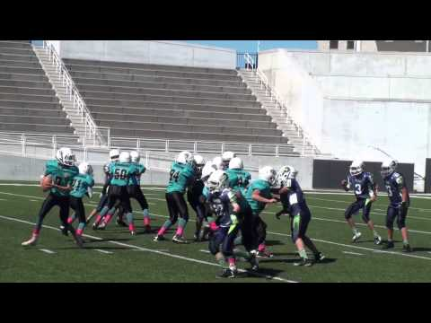YAFL 2014 Fall Junior Atrisco vs Rio Rancho