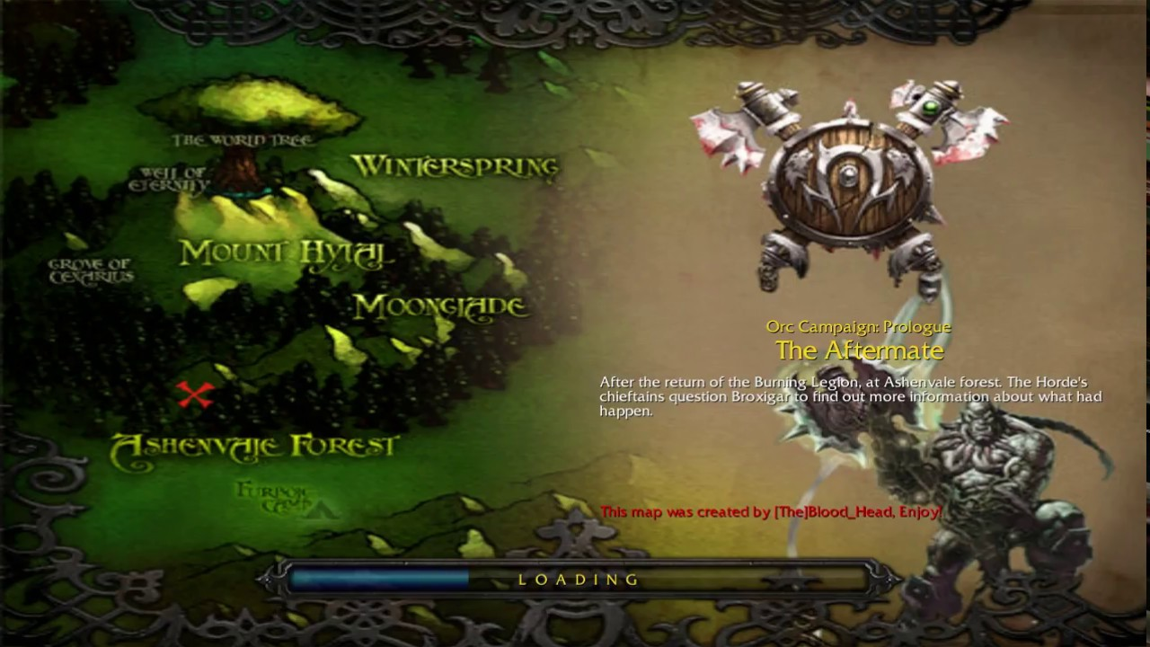 Campaign Arthas Campaign Orcs Prologue Hive