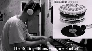 The Rolling Stones - Gimme Shelter (piano cover)