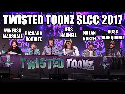 Twisted Toonz Panel at Salt Lake Comic Con 2017
