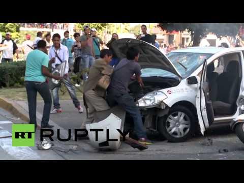 Mexico: Rioters set cars alight and loot in Guadalajara