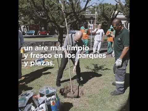 """<h3 class=""""list-group-item-title"""">MÁS ÁRBOLES EN LA CIUDAD - Horacio Rodríguez Larreta</h3>"""