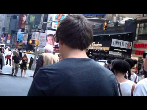 One Direction: Liam Payne and Niall Horan Walking in NYC 5/27/12