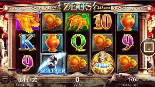 Menang 1 8 Juta Modal 100 Ribu Slot Zeus Youtube