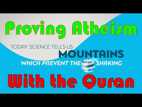 Proving Atheism With the Quran