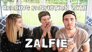 READING FAN FICTION WITH ZALFIE || MARK FERRIS