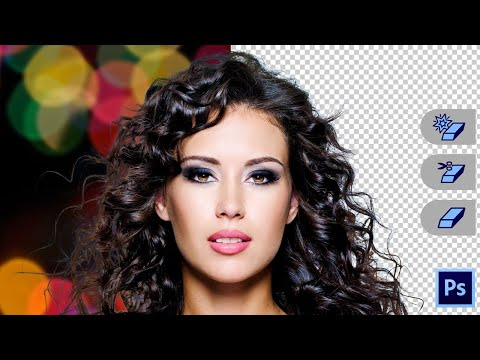 Remove Anything With Eraser Tools In Photoshop | webtrickshome