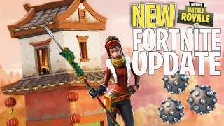 *NEW* Impulse Grenade, Dragon Skins & SHRINES In Fortnite Battle Royale! | Fortnite Update