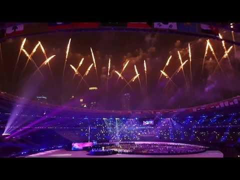 (FANCAM) MENGHARUKAN! Isyana Sarasvati - Asia's Who We Are Saat Closing Ceremony Asian Games 2018