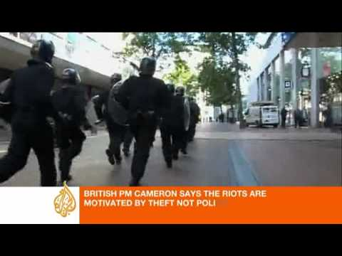 Barnaby Phillips reports from Birmingham on the violence there