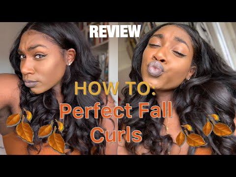 How To: Perfect Fall Curls | Diamond Virgin Hair Review