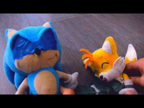 Sonic Plush: Sonic Tickles Tails