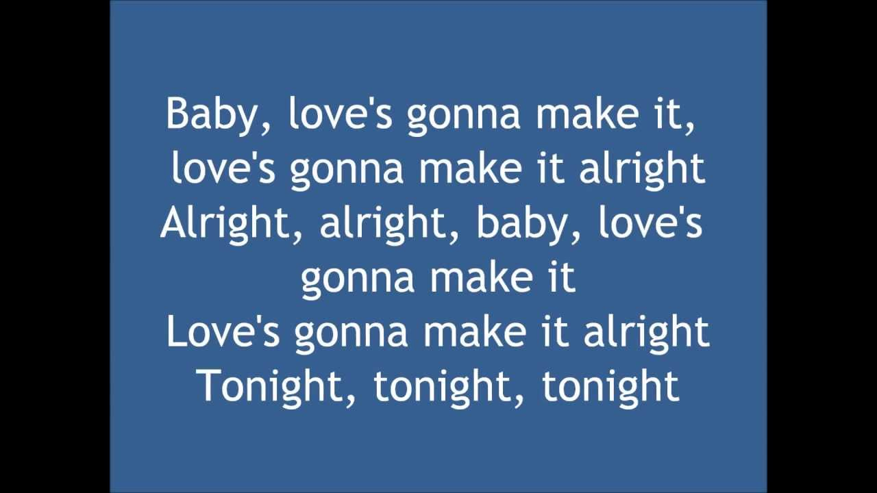 Love's Gonna Make It Alright Lyrics - George Strait - YouTube