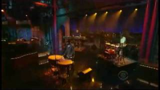 Mos Def Quiet Dog on Letterman 6 8 09