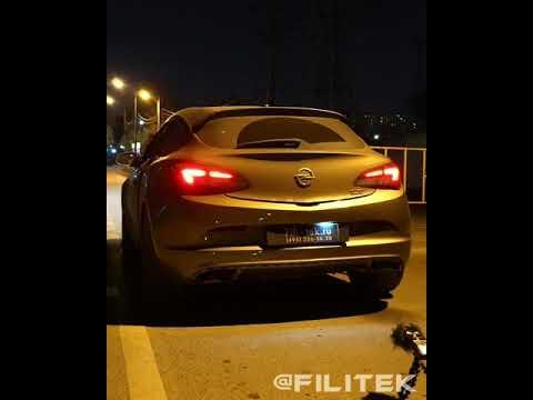 Тюнинг выхлопной системы Opel Astra GTS 1.4t 2014 года