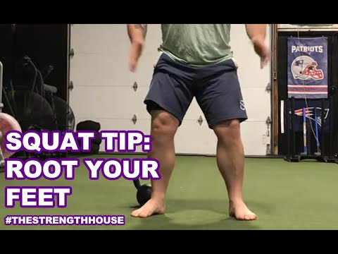 Squat Tip: Rooting Your Feet