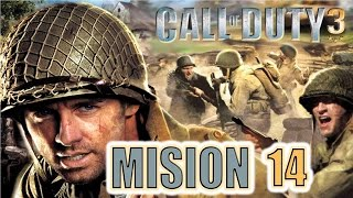 Call of Duty 3 PS2 - Misión 14 [FINAL] - Chambois