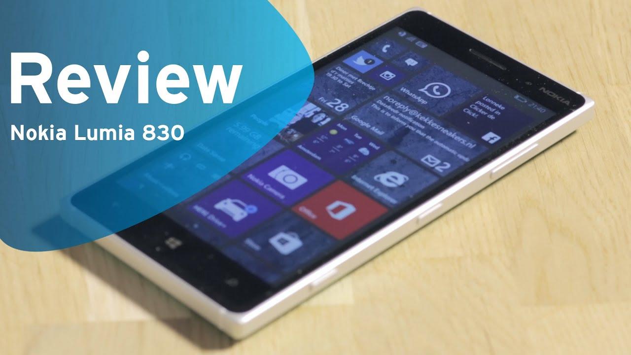 Nokia lumia 830 reviews - Nokia Lumia 830 Review Dutch