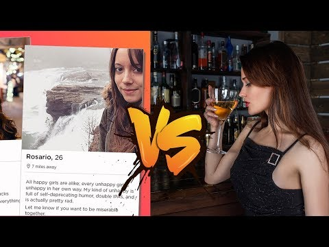Tinder VS Cold Approach - How Approaching Women Change My Life
