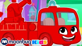 MORPHLE the Firefighter | Kids Fun & Educational Cartoons | Moonbug Play and Learn