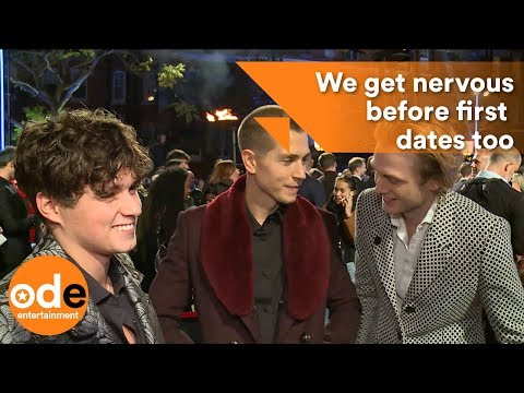 Brad from The Vamps: We get nervous before dates too