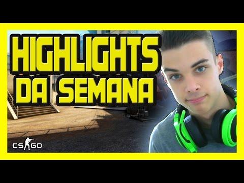 CSR | HIGHLIGHTS DA SEMANA (1 TAPS, ACES AND CLUTCHES) - [CS:GO]