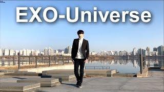kpop)EXO(엑소)-Universe(유니버스)dance  choreography-갓동민(goddongmin)