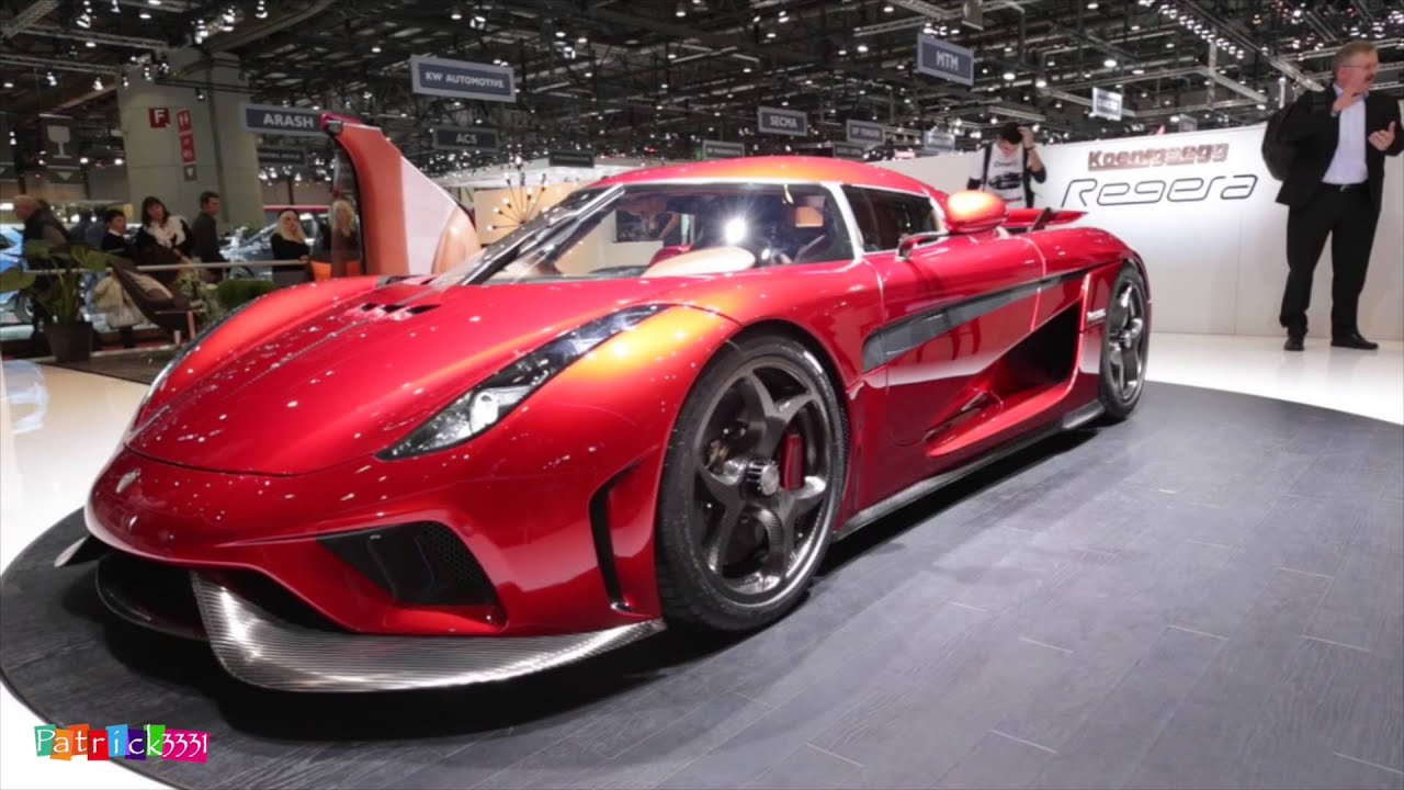 koenigsegg regera geneva auto salon 2016 geneva motor show 2016 patrick3331 youtube. Black Bedroom Furniture Sets. Home Design Ideas