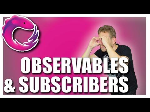 OBSERVABLES, OBSERVERS & SUBSCRIPTIONS | RxJS TUTORIAL